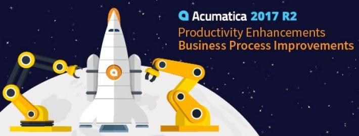 Acumatica 2017 R2: Productivity Enhancements - Business Process Improvements