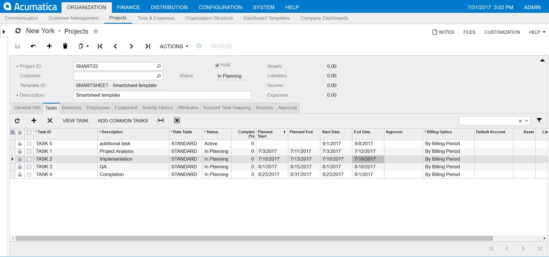 Acumatica-Smartsheet-integration-pic1