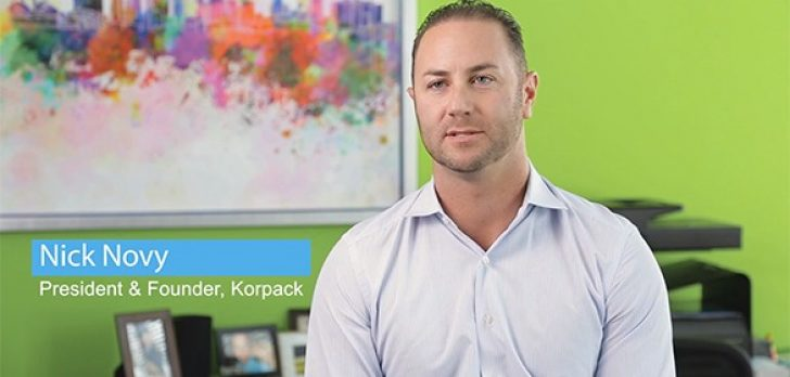 Acumatica Cloud ERP solution for Korpack