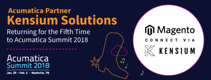 Acumatica Partner Kensium Solutions: Returning for the Fifth Time to Acumatica Summit 2018