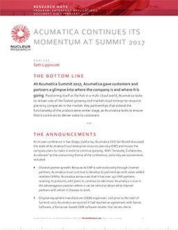 Acumatica Continues its Momentum at Summit 2017