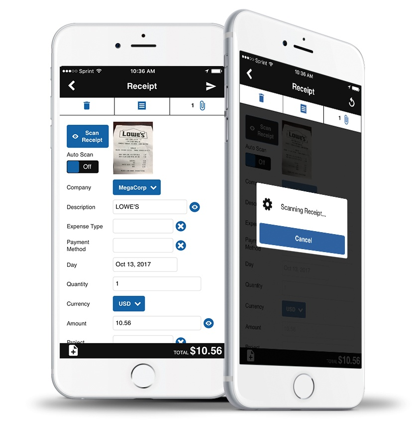 Paramount WorkPlace - Expense Mobile App