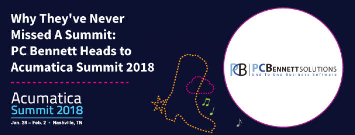 Why They've Never Missed A Summit: PC Bennett Heads to Acumatica Summit 2018