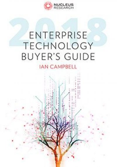 Enterprise Tech Buyer's Guide 2018