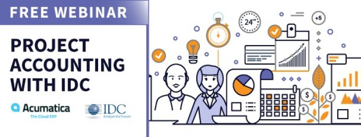 Free Project Accounting Webinar with Acumatica and IDC