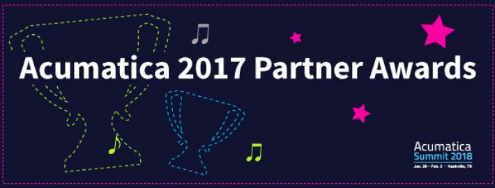 Acumatica 2017 Partner Awards