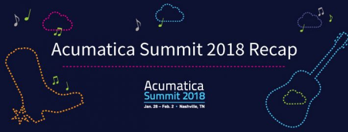 Acumatica Summit 2018 Recap