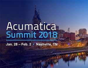 Acumatica Summit 2018 Keynotes