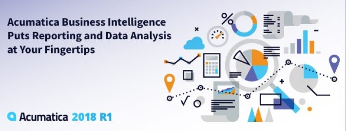 Acumatica Business Intelligence Puts Reporting and Data Analysis at Your Fingertips