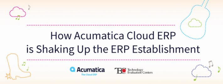 How Acumatica Cloud ERP is Shaking Up the ERP Establishment