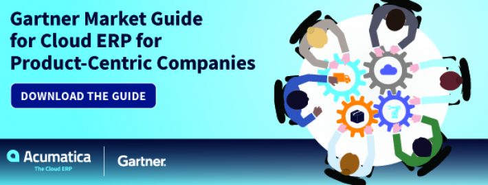 Free Gartner Market Guide for Cloud ERP for Product-Centric Companies