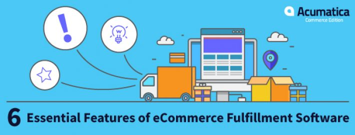 6 Essential Features of eCommerce Fulfillment Software