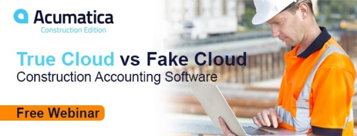 Free Webinar: Understanding True Cloud vs. Fake Cloud Construction Accounting Software