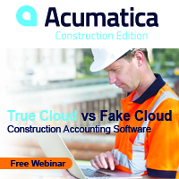 Acumatica Webinar: True Cloud vs. Fake Cloud Construction Accounting Software