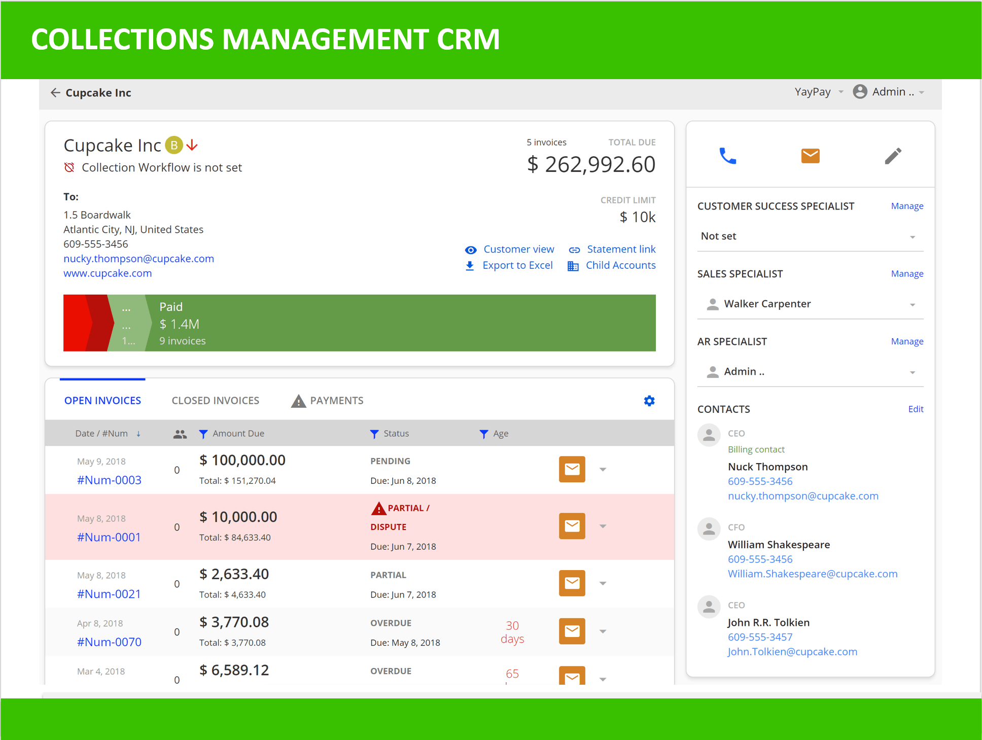 YayPay Collection Workflow 2
