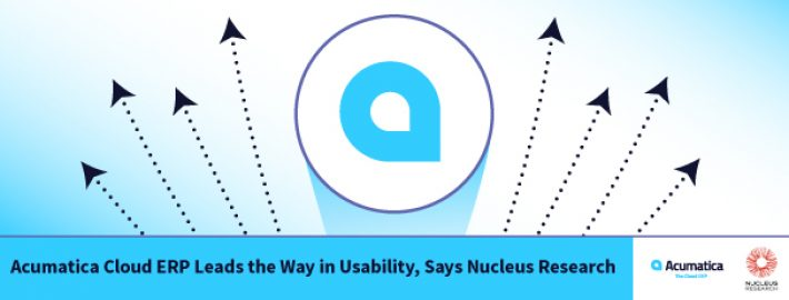 Acumatica Cloud ERP Leads the Way in Usability, Says Nucleus Research