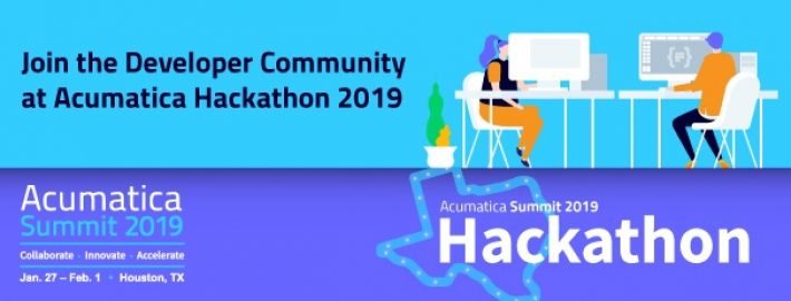 Join the Developer Community at Acumatica Hackathon 2019
