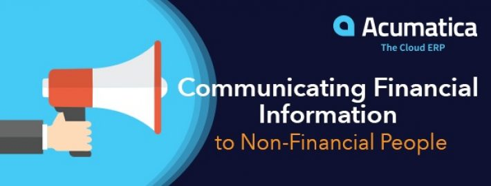 Communicating Financial Information to Non-Financial People