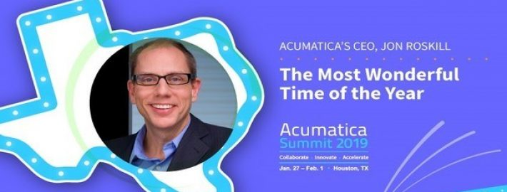 Acumatica Summit 2019: CEO Jon Roskill on the Most Wonderful Time of the Year
