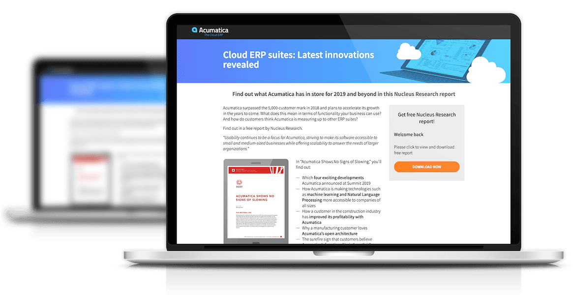Cloud ERP suites: Latest innovations revealed