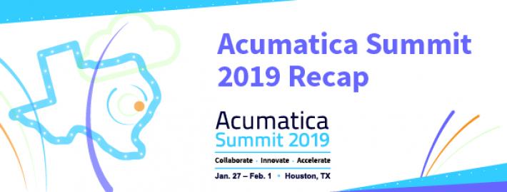 Acumatica Summit 2019 Recap