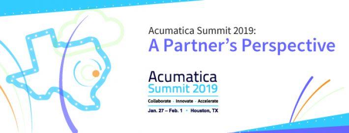 Acumatica Summit 2019: A Partner's Perspective