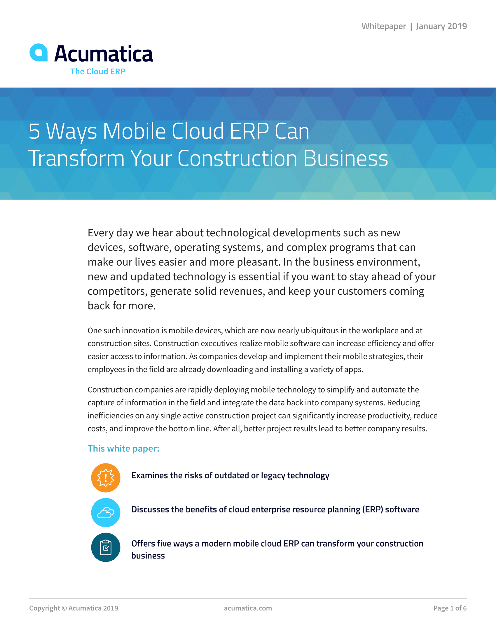 Does your construction accounting system let you gather data anywhere?, page 0