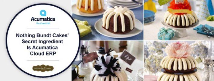 Nothing Bundt Cakes' Secret Ingredient Is Acumatica Cloud ERP