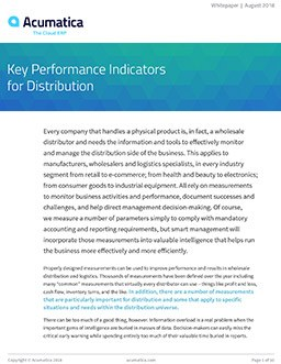 Improve Your Business Performance with Distribution KPIs