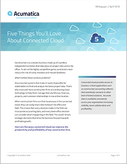The 5 Things You'll Love About Connected Cloud