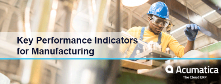 Key Performance Indicators for Manufacturing [Whitepaper]