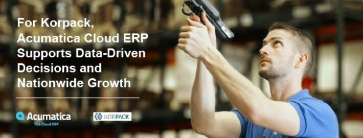 For Korpack, Acumatica Cloud ERP Supports Data-Driven Decisions & Nationwide Growth