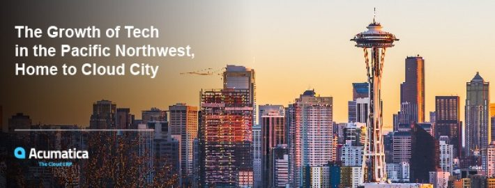 The Growth of Tech in the Pacific Northwest, Home to Cloud City