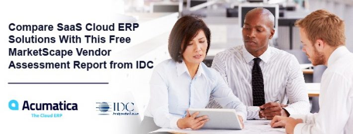 Compare SaaS Cloud ERP Solutions With This Free MarketScape Vendor Assessment Report from IDC