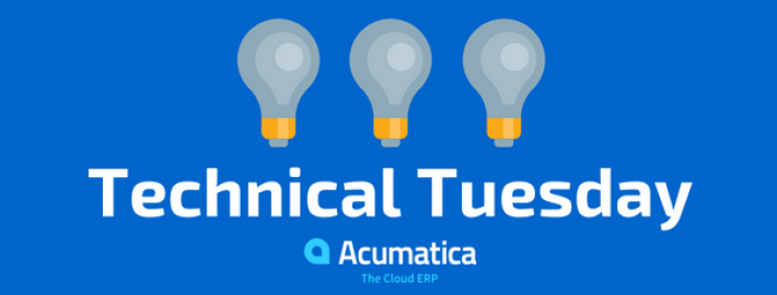 TechnicalTuesday:Editing the Acumatica Portal Home Page
