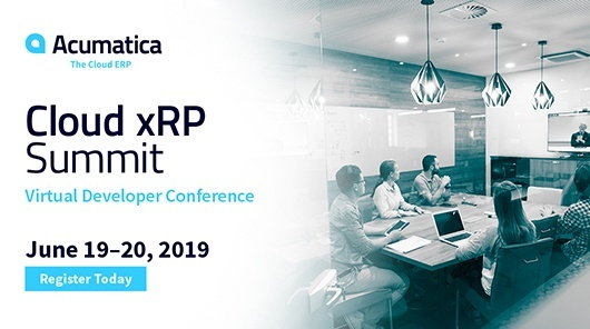 Acumatica Webinar: Cloud xRP Summit: Virtual Developer Conference
