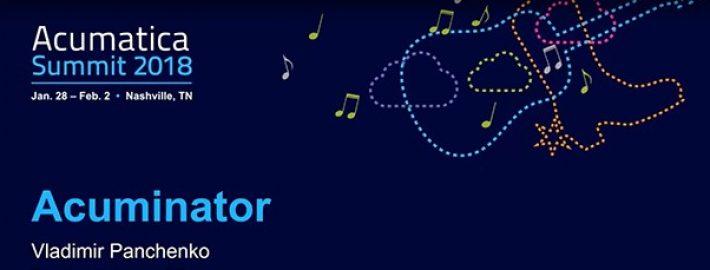 Acuminator – a Visual Studio Extension Tool for Acumatica Developers