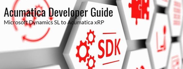 New Developer Guide Available – Dynamics SL SDK to xRP Framework