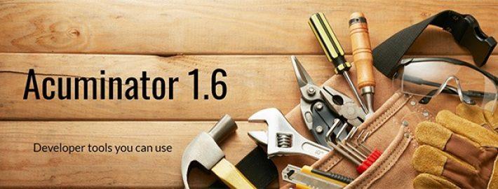 Acuminator 1.6 Now Supports Microsoft Visual Studio 2019