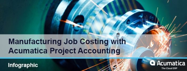 Manufacturing Job Costing with Acumatica Project Accounting [Infographic]