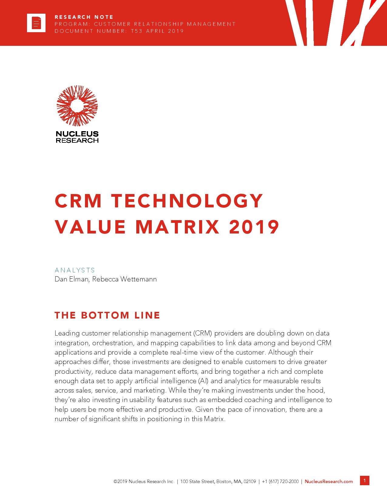 Comparing Different Types of CRM Technology?, page 0