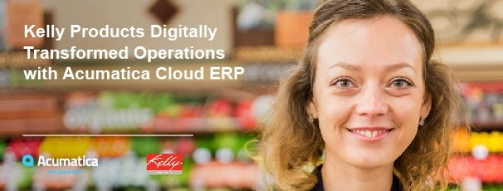 Kelly Products Digitally Transformed Operations with Acumatica Cloud ERP