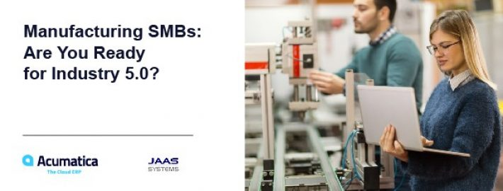 Manufacturing SMBs: Are You Ready for Industry 5.0?