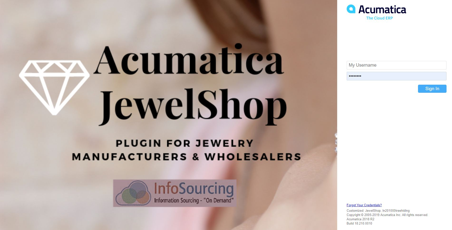 1_Acumatica-JewelShop-Login