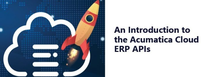 Yes, we have an API for that: An Introduction to the Acumatica Cloud ERP APIs