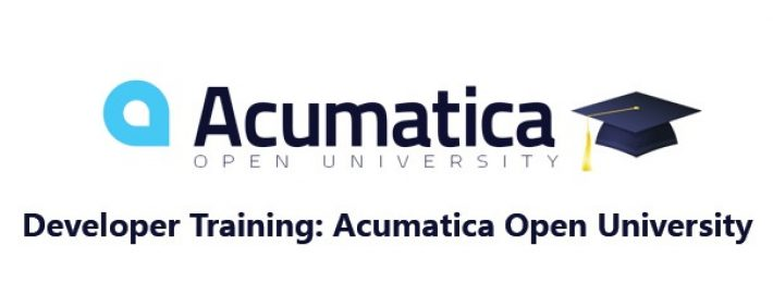 Developer Training: Acumatica Open University