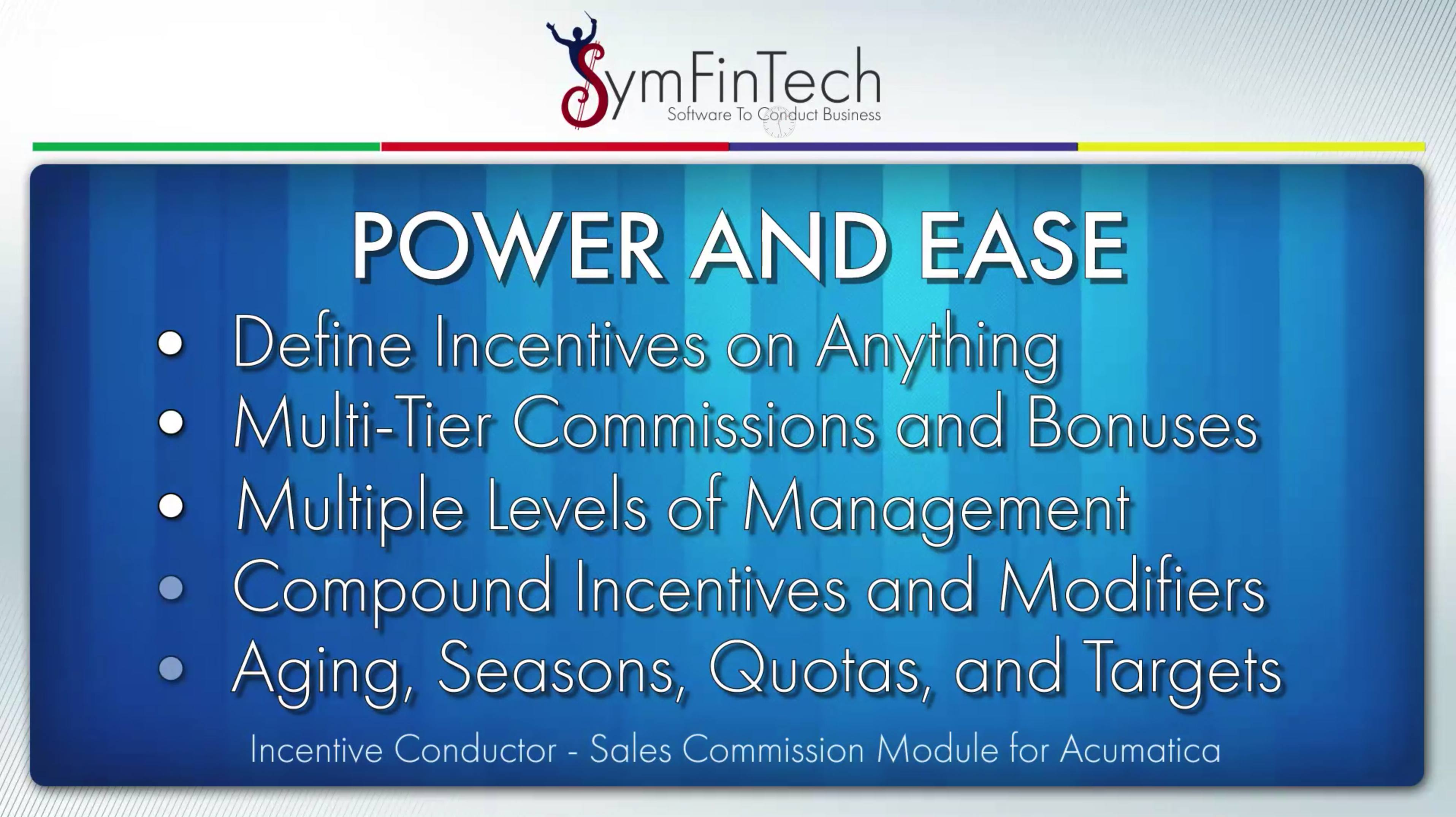 Incentive Conductor power and ease slide