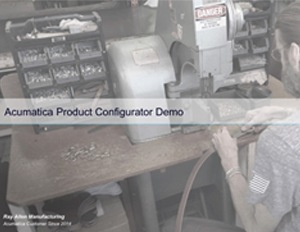 Expand Product Lines and Control Costs with Acumatica's Product Configurator
