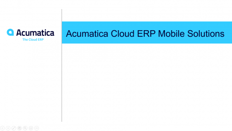 Acumatica Mobile Solutions (3 minutes)