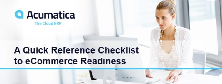 A Quick Reference Checklist to eCommerce Readiness
